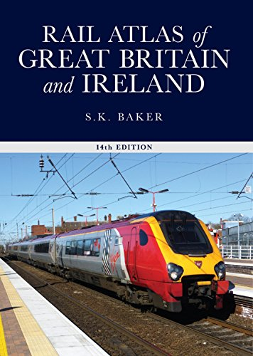 9780860936695: Rail Atlas of Great Britain and Ireland,