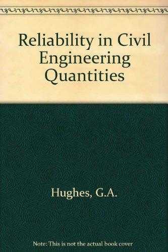 9780860958789: Reliability in Civil Engineering Quantities