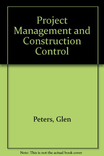 9780860958925: Project Management and Construction Control