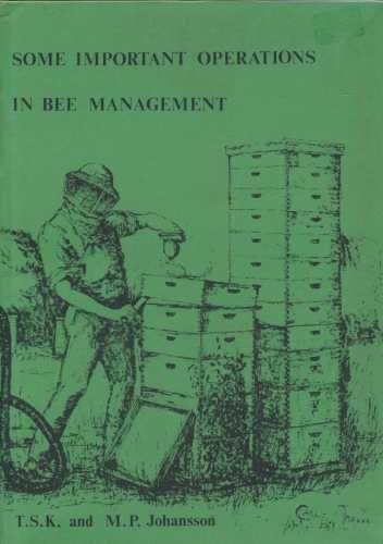 9780860980292: Some Important Operations in Bee Management