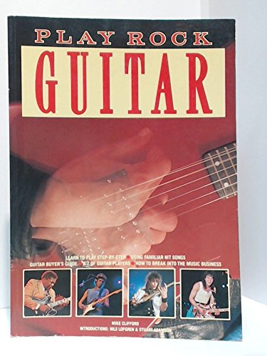 9780861012992: Play Rock Guitar (Play Rock... Series)