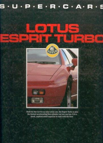 Lotus Esprit Turbo (Supercars): Simister, John