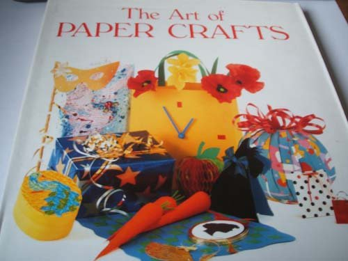 9780861015764: The Art of Paper Crafts
