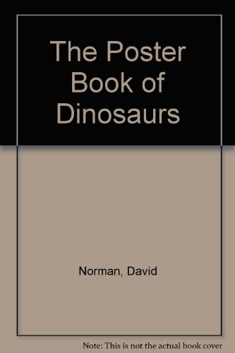 9780861016471: The Poster Book of Dinosaurs