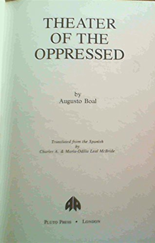 9780861040810: Theatre of the Oppressed