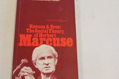 9780861043354: Reason and Eros: The Social Theory of Herbert Marcuse (Pluto ideas in progress)