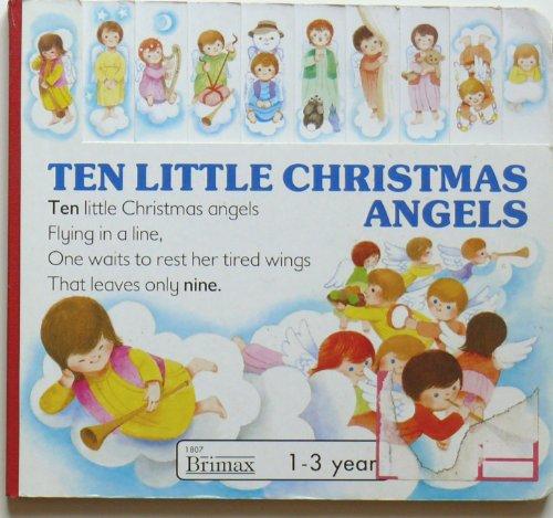 9780861127405: Ten Little Christmas Angels (Christmas Board Books)