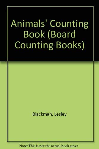 9780861128426: Animals' Counting Book (Board Counting Books)