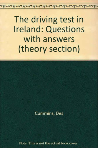 9780861216529: The driving test in Ireland: Questions with answers (theory section)