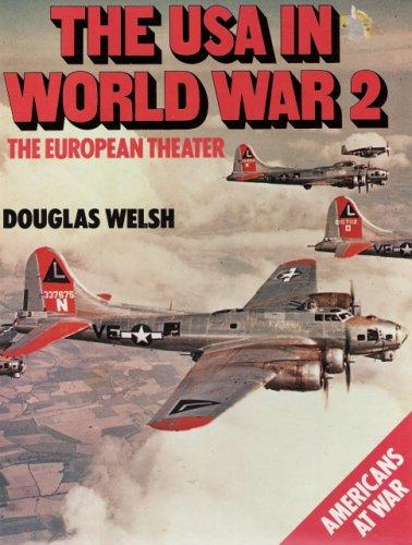 9780861240517: THE USA IN WORLD WAR 2. The European Theater.