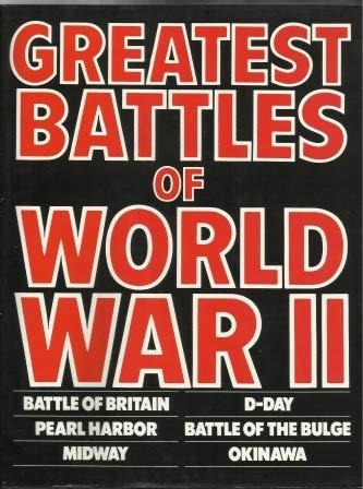 9780861240623: Greatest Battles of World War II