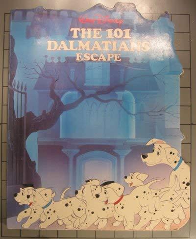 9780861244874: The 101 Dalmations Escape (Walt Disney)