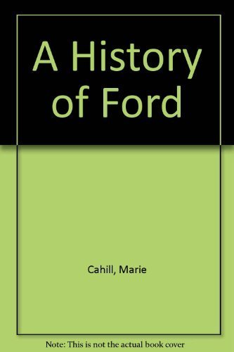 9780861248278: A History of Ford