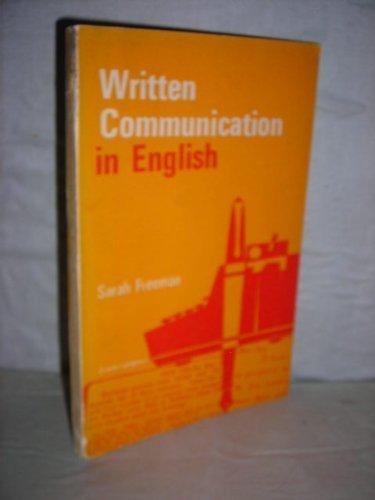 9780861256990: Written Communication in English