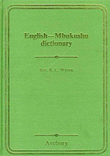 9780861272037: English-Mbukushu dictionary