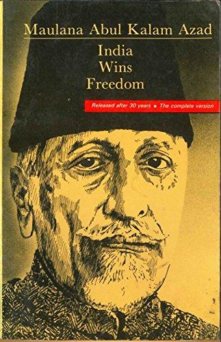 9780861319145: India Wins Freedom