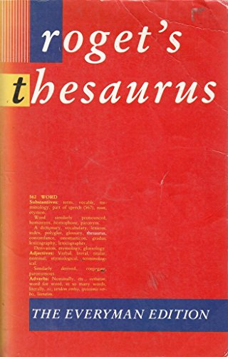 ROGET'S THESAURUS OF ENGLISH WORDS AND PHRASES: D. C. BROWNING