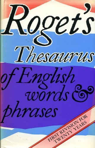9780861366187: Roget's Thesaurus of English Words and Phrases - Everyman Edition