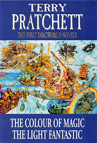 9780861404216: The First Discworld Novels: The Colour of Magic and The Light Fantastic