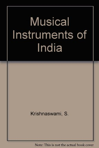 9780861441457: Musical Instruments of India
