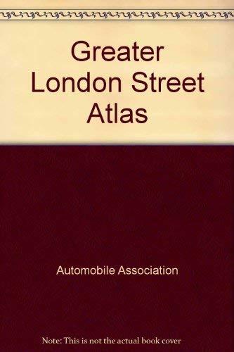 9780861450701: Greater London Street Atlas