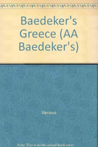 Baedeker's Greece : The Complete Illustrated Travel Guide