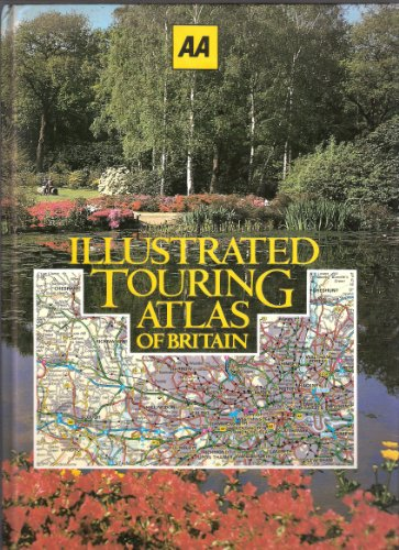 9780861451289: Illustrated Touring Atlas of Britain
