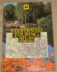 9780861451968: Illustrated Touring Atlas of Britain