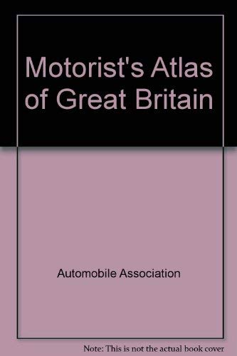9780861452637: Aa Motorists' Atlas of Great Britain