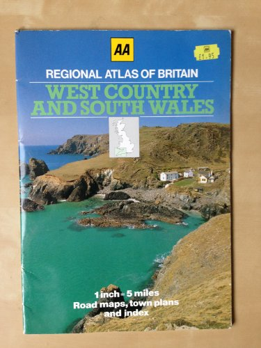 9780861452835: West Country and South Wales (Aa Regional Atlas of Britain)