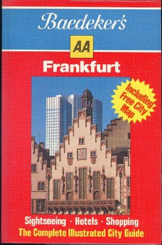 9780861453221: Baedeker Aa Frankfurt (Baedeker's Aa Pocket Travel Guides)