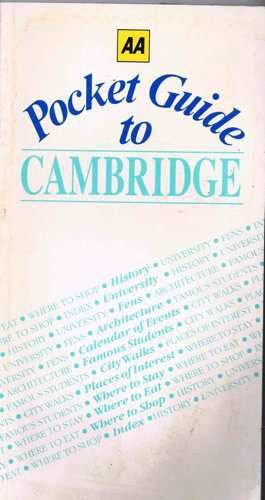 9780861456710: Aa Pocket Guide to Cambridge (City Guides)