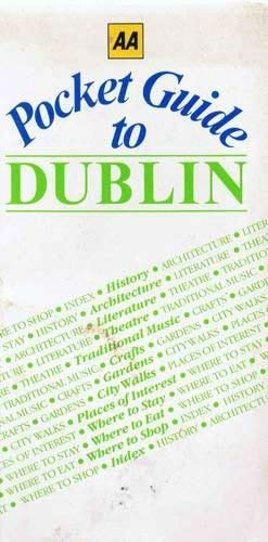 9780861456727: Aa Pocket Guide to Dublin (City Guides)