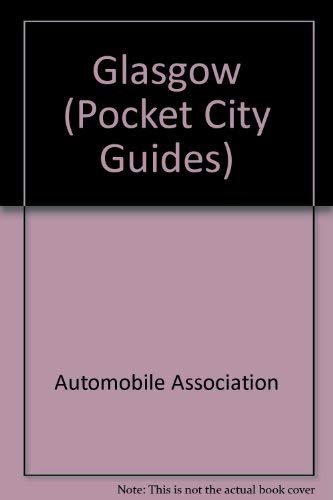 9780861456741: Aa Pocket Guide to Glasgow (City Guides)