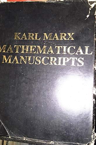9780861510283: Mathematical Manuscripts