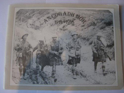 9780861520169: An Cogadh Mor Nineteen Fourteen To Nineteen Eighteen