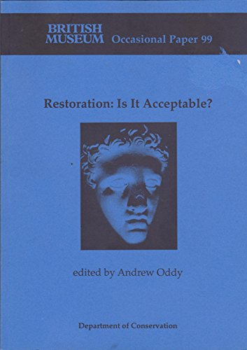 9780861590995: Restoration Op99: Is It Acceptable? (Occasional Paper)