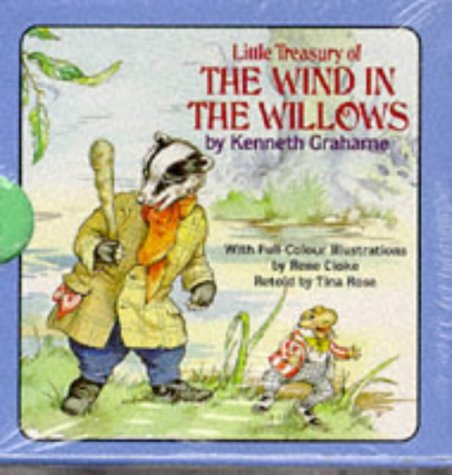 9780861632909: Little Treasury of the Wind in the Willows (Little treasuries)