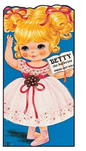 9780861634224: Betty the Ballerina: Press Out Doll and Story Book (Giant doll dressing books)