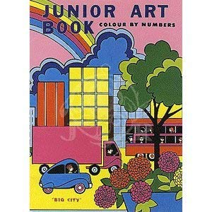 9780861634439: Big City: Junior Art Book - Colour by Numbers for Beginners