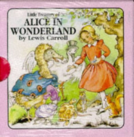 Little Treasury of Alice in Wonderland: Lewis Carrol Retold By Jane Carruth