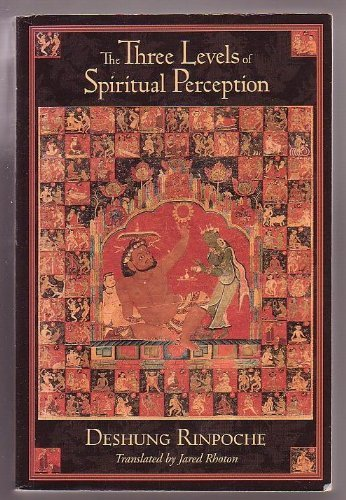 9780861710690: The Three Levels of Spiritual Perception: An Oral Commentary on the Three Visions (Nang Sum of Ngorchen Konchog Lhundrub)