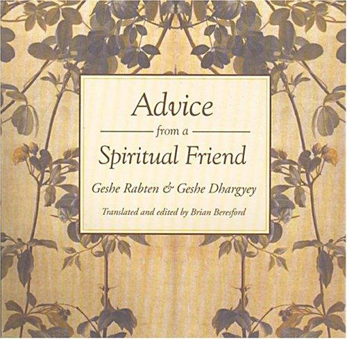 9780861711079: Advice from a Spiritual Friend