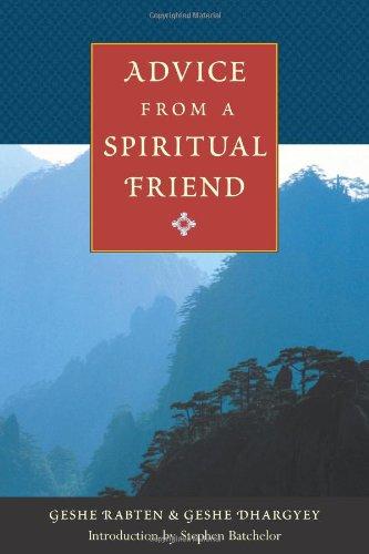 9780861711932: Advice from a Spiritual Friend