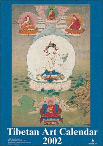 9780861714162: Tibetan Art Calendar 2002