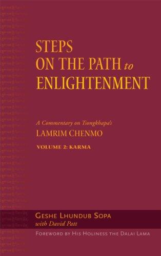 9780861714810: Steps on the Path to Enlightenment, Karma: Steps on the Path to Enlightenment: A Commentary on Tsongkhapa's Lamrim Chenmo, Volume 2: Karma (Vol.2)