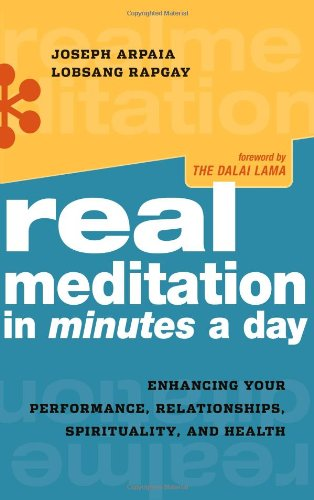 9780861715565: Real Meditation in Minutes a Day: Enhancing Your Performance, Relationships, Spirituality, and Health
