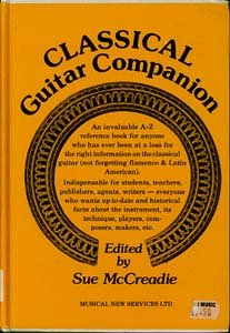 9780861751716: Classical guitar companion (A Guitar magazine project)
