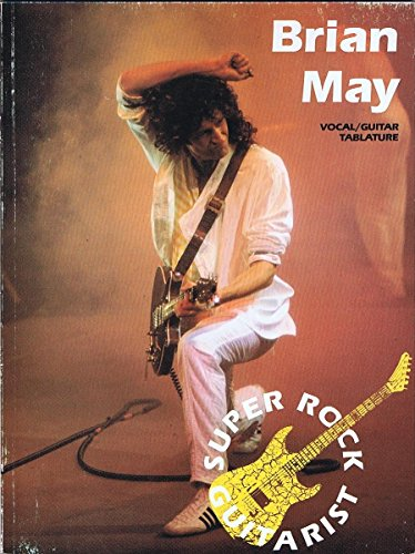 9780861754502: Brian May: Vocal/guitar tablature version (Super rock guitarist)