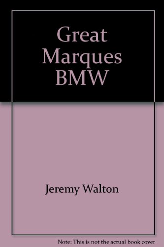 9780861785704: Great Marques BMW